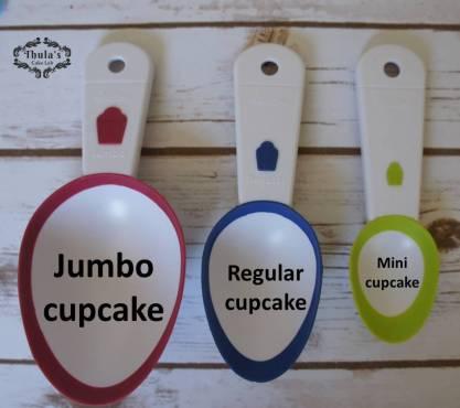 Cupcake batter cups