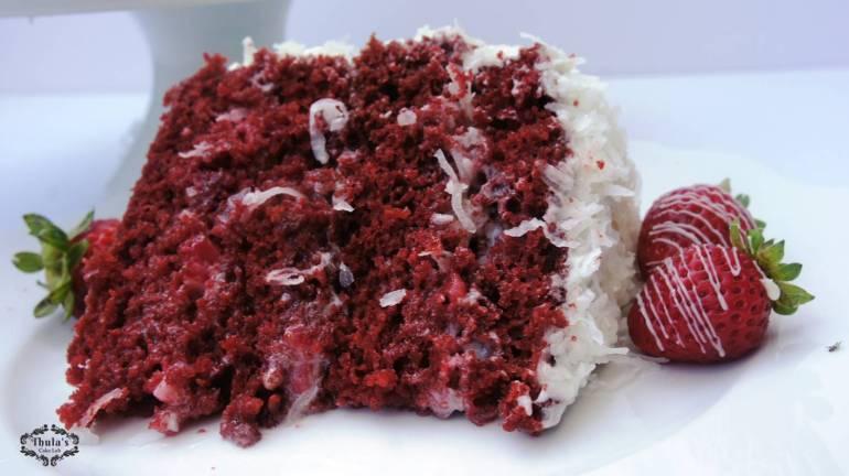 Red velvet cake- 4