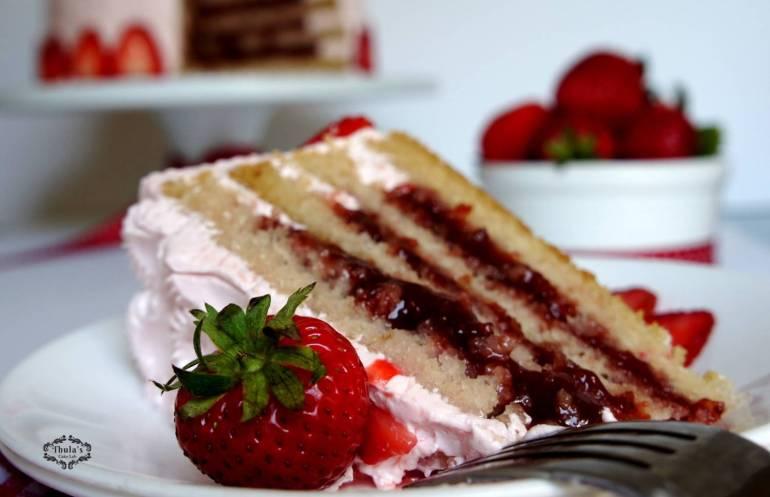 Strawberry cake -3