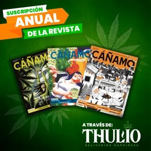 Suscripción anual Revista Cañamo
