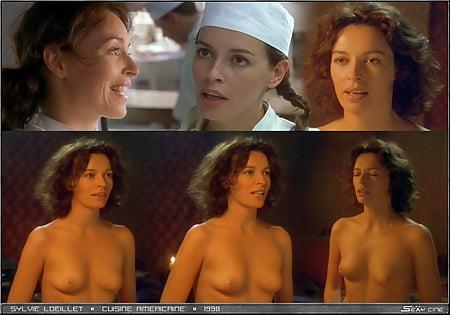 Sylvie Loeillet Topless La Cuisine Americaine 1998 34yo