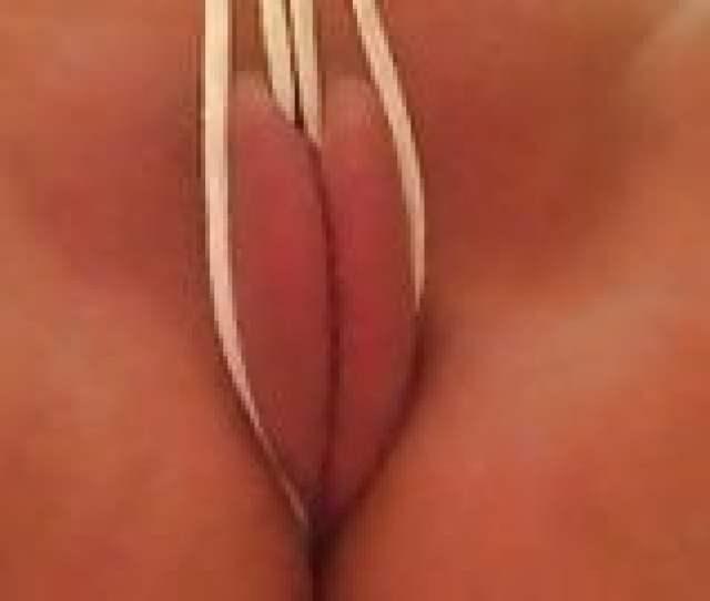 Self Pussy Spanking