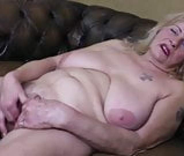 Old Grandma With Big Saggy Tits And Thirsty Cunt
