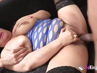 ENORMOUSLY TITTED Agata acquires a tough anus pounding whereas hus
