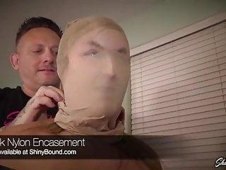Nylon Encasement Tape Bondage for Kendra