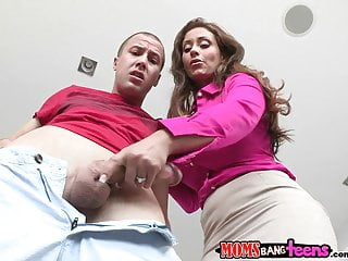 Moms Bang Teens - Couple and mommy makes three