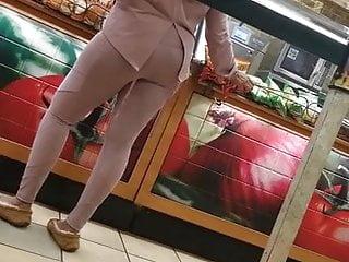 Sexy indian milf at subway