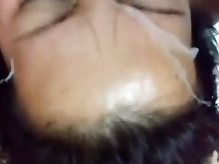 desi gangbang and cum on face