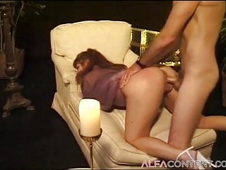 Gorgeous beautiful girl gains her asshole drilled