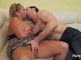 bang with steaming hot blonde german milf