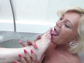 Old lesbian fetish foot