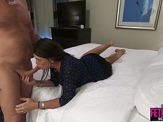 He fucks his sexually frustrated female boss