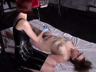 Lesbian Mistress – Wax Abuse and Spanking