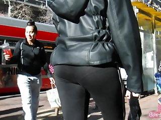BootyCruise: One Tremendous Full grown Asian Booty 9 Dark skinned Leggings