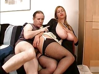 Fetish-Dressed Fuck-Slut with Huge Boobs 2