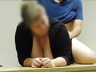 Instructor and pupil have intercourse in classe
