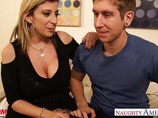 Busty mom Sara Jay fucking
