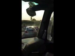 Younger couple caught fucking on public parking zone voyeur intercourse
