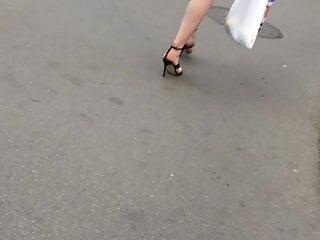 Hidden spy public heels