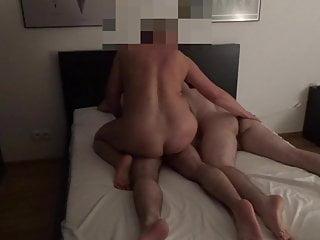 Bemax-she caresses guys ass
