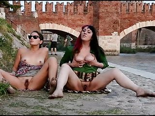 Nude and Barefoot Italian Whores Cecilia, Chat Noir. Verona