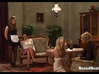 On Consignment 3: Lesbian Mistress Bounds And Brands Slave