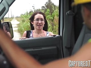 Gagged younger cutie screams whilie penetrated missionary fashion
