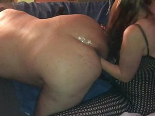 Man Gets Fisted ass hard by horny Techno Milf, part 2