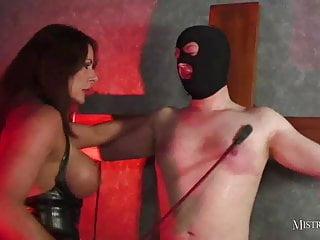 Mistress Carly – Syringing sperm from my slave