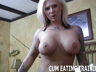 Cum devouring is your punishment CEI