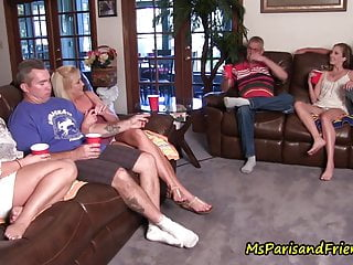 Quarantined Household Reunion Turns Right into a TABOO Orgy