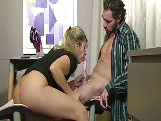Lisa gets sodomized by her boss
