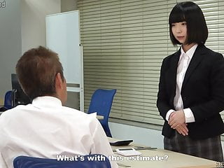 A rookie workplace woman plans to take revenge by enslaving her