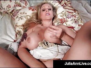 Fair World Notorious Milf Julia Ann Finds Mega Shaft Drilled