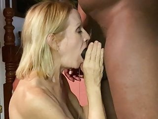 White lover surrendering to big black cock