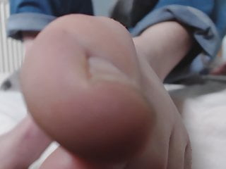 male toes pov