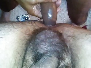 Another hairy guy wanting to become my sub slut. Top view.