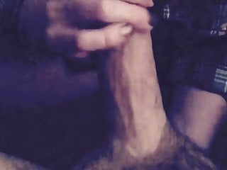 Wife puts me in stockings fingers prostate till I cum part 1