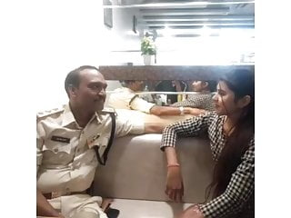 Indian whore fucked by Police Man