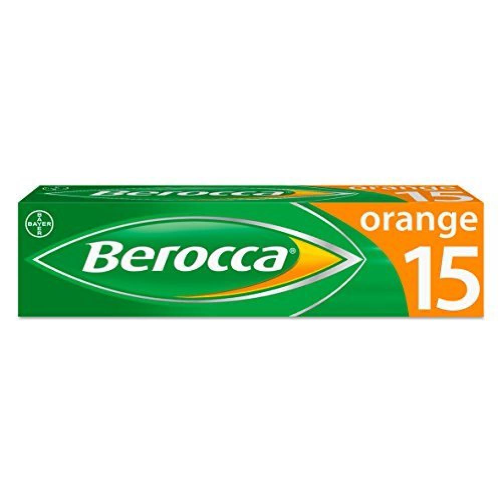 Berocca Orange Energy Vitamin 15 Tablets | Approved Food