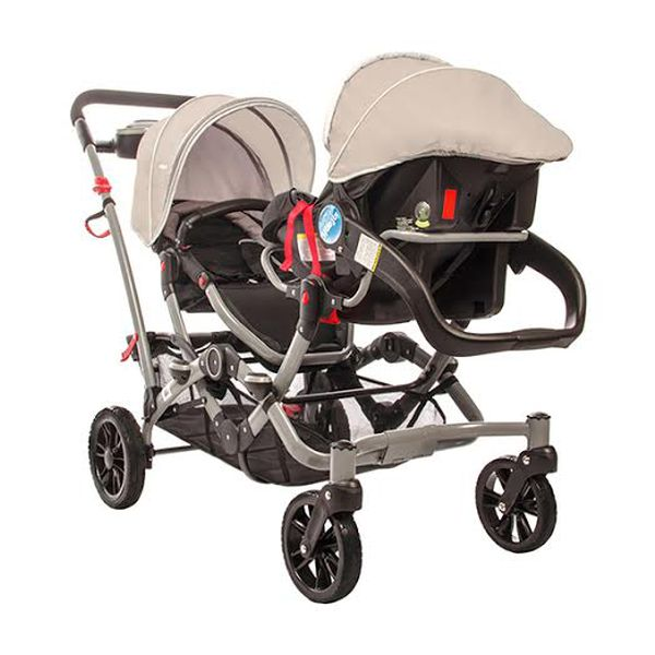 Coche do Ride Gery  2 sillas  2 bases  Infanti  Babytuto
