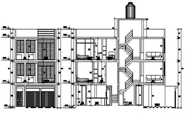 House floor plan, cover plan and electrical layout plan