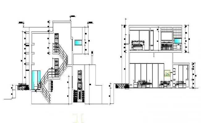 Structural Column Foundation Design With Slab AutoCAD