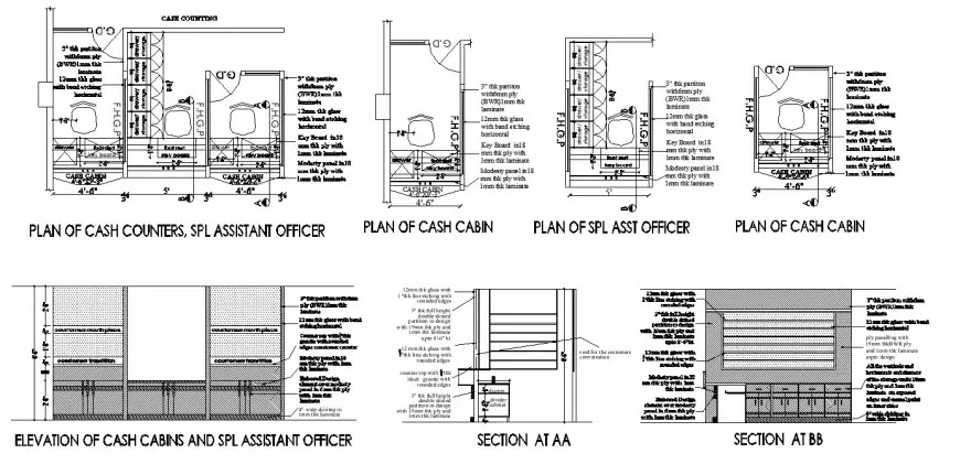 2d view of Office table CAD furniture blocks layout