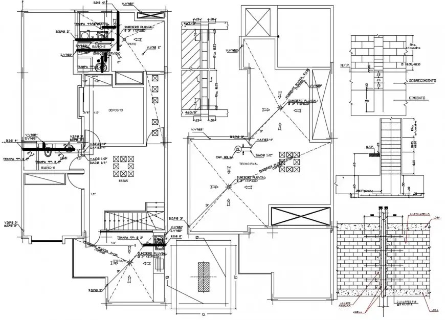 Toilet detail with Jacuzzi detail drawing in dwg AutoCAD