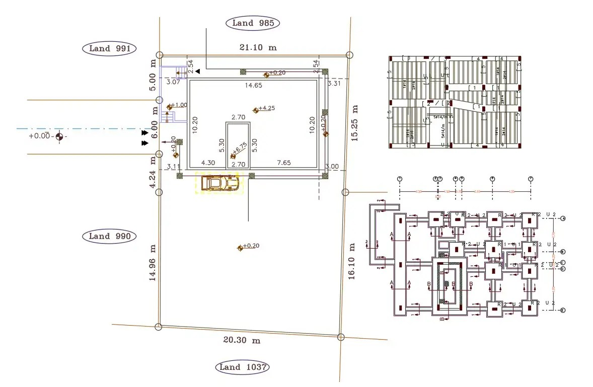10 X 15 Meter House Construction Plan And Site Plot Design