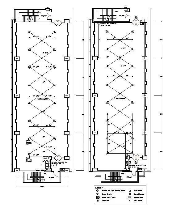 Commercial building Electrical drawings are given in this