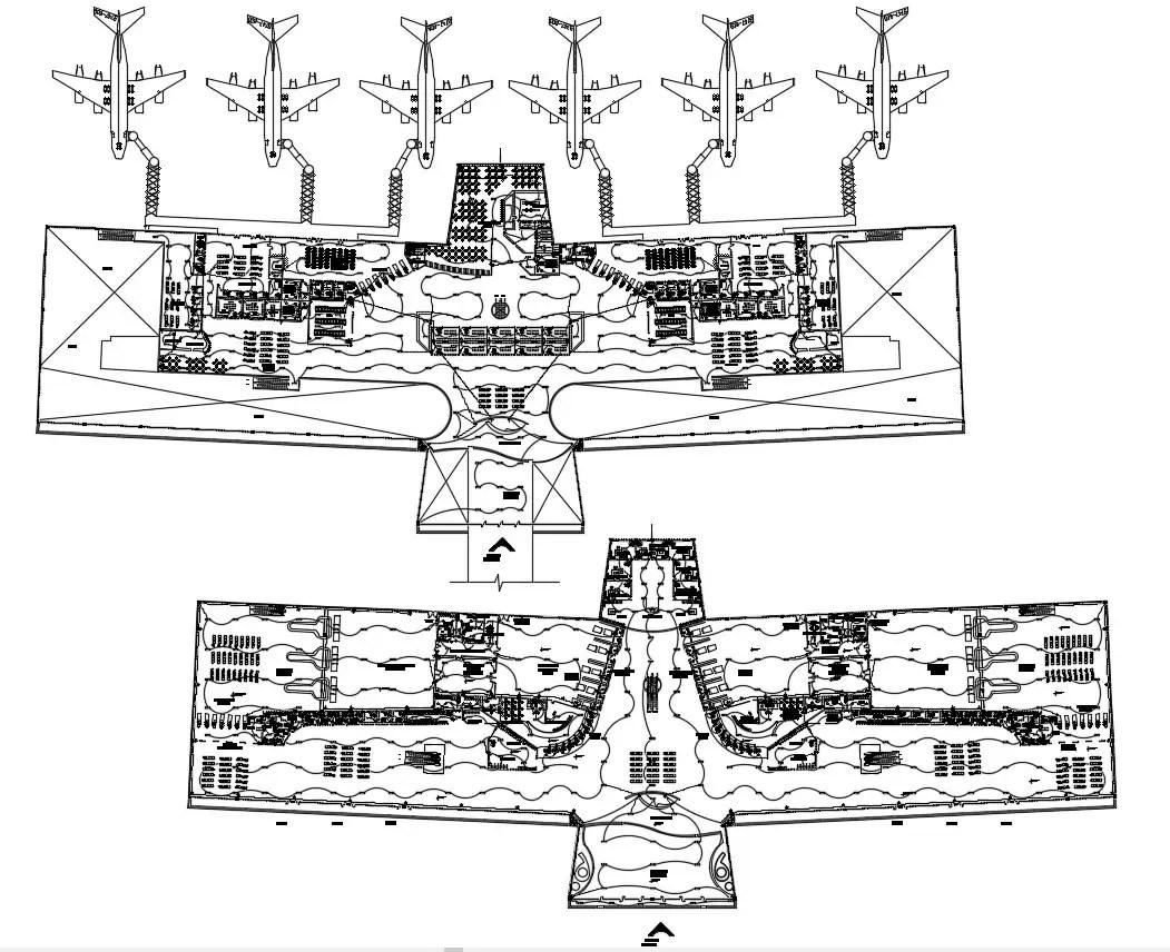 Design Of Airport Cad Plan