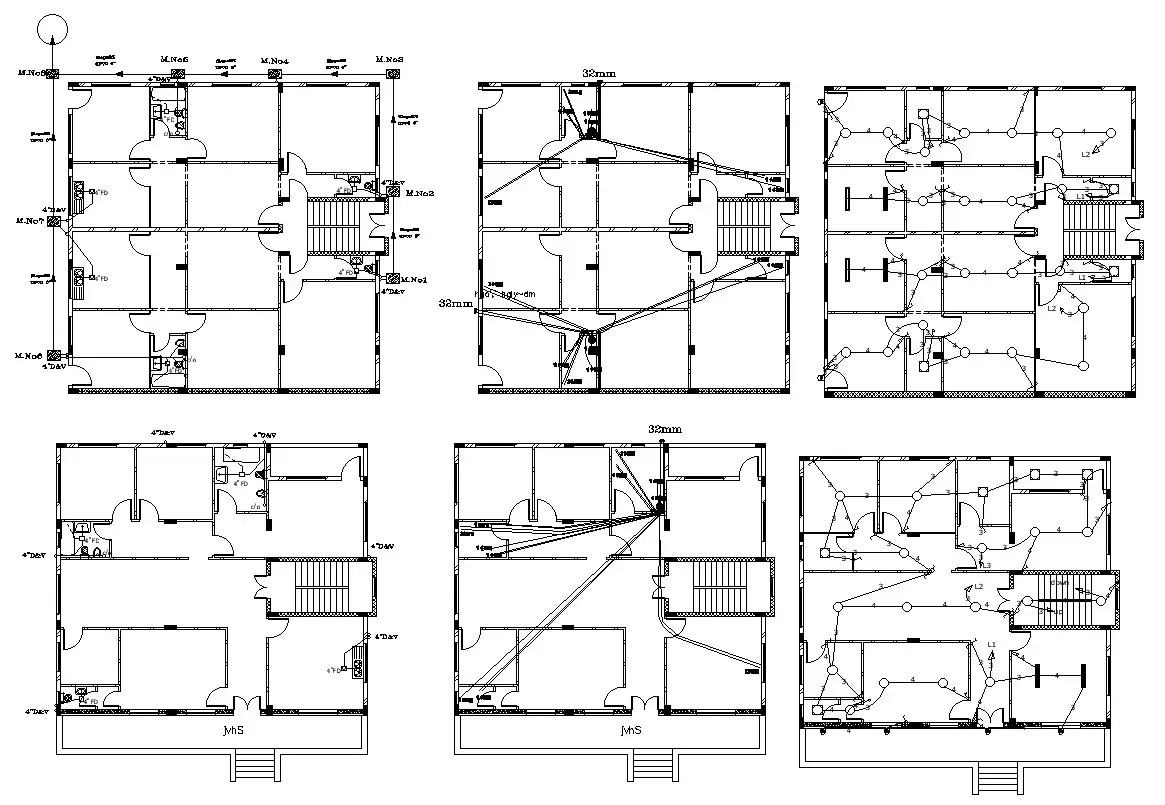 Electrical And Plumbing Design Of Residential Building