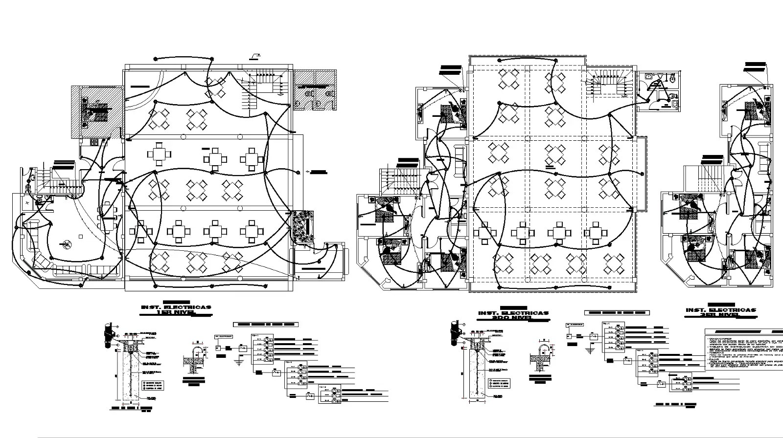 Electrical Housing Project Plan Detail Dwg File